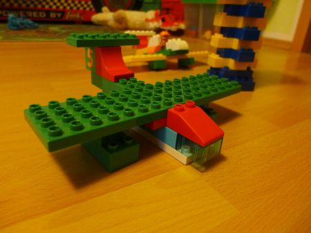 Seaplane From Lego Duplo