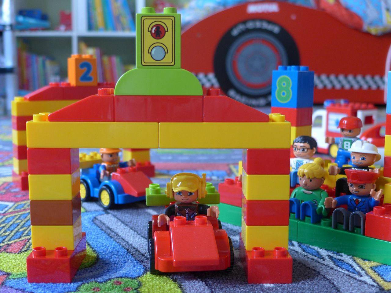Lego Duplo Gas Station Instructions